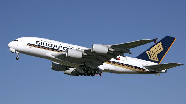 The A380 from Singapore Airlines
