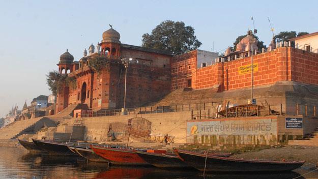 The River Ganges at Varanasi
