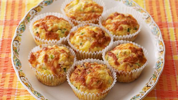 """**[Polenta, pancetta and cheese muffins](https://www.womensweeklyfood.com.au/recipes/polenta-pancetta-and-cheese-muffins-8341
