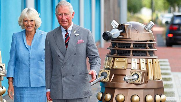 Prince Charles delights Doctor Who fans with hilarious Dalek impression