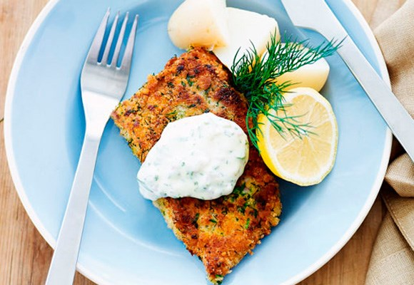 [**Herb crumbed fish fillets**](http://www.aww.com.au/food/recipes/2011/2/herb-crumbed-fish-fillets)