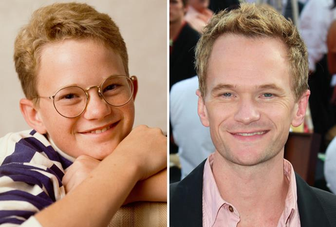*Doogie Howser MD* star Neil Patrick Harris in 1988 and in 2011.