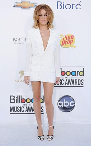 Miley at the 2012 Billboard Music Awards in May.