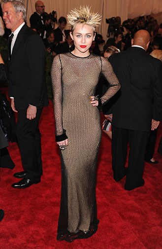 A very different look at the 2013 Met Gala in May.