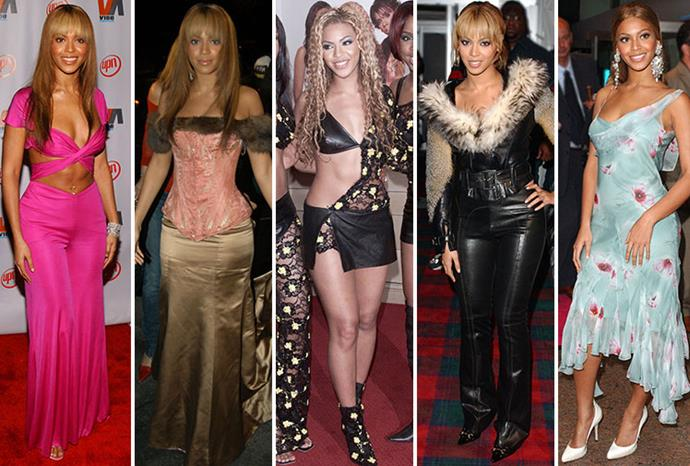 Some of Beyonce's fashion misses over the years.
