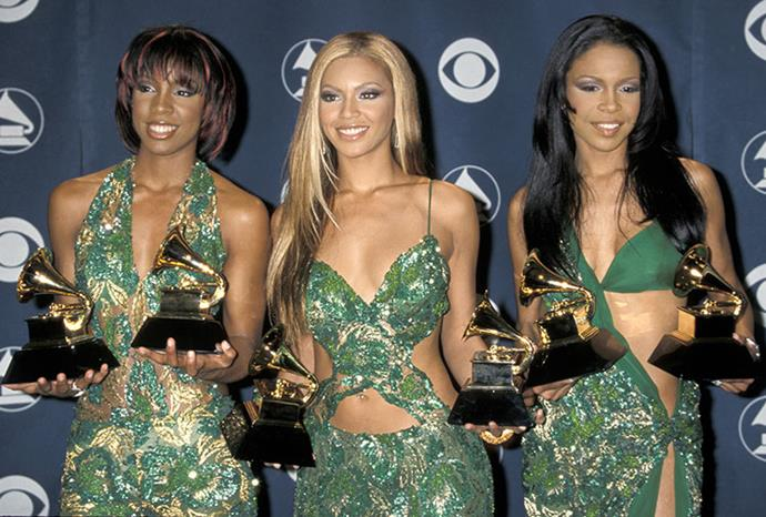New-look Destiny's Child in 2001.