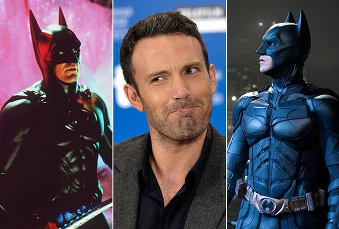 George Clooney as batman, new recruit Ben Affleck, and Christian Bale in the role.