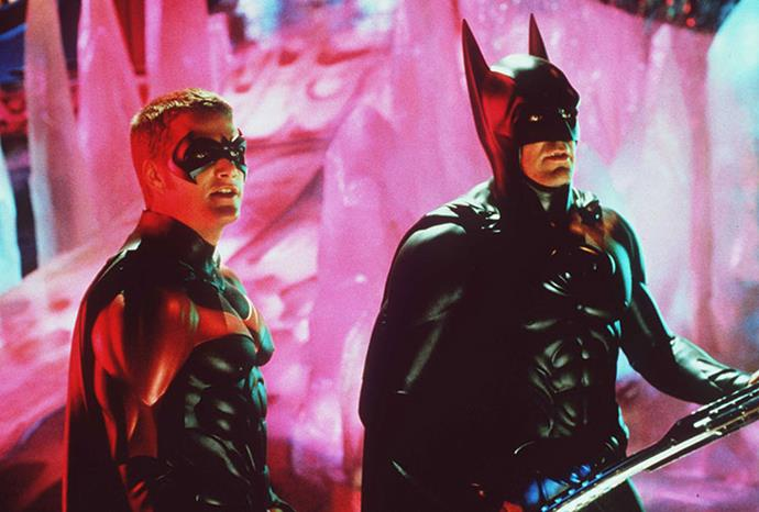His sidekick Robin was played by Chris O'Donnell.