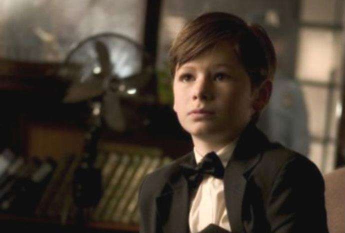 Gus Lewis played a young Batman in *Batman Begins*.