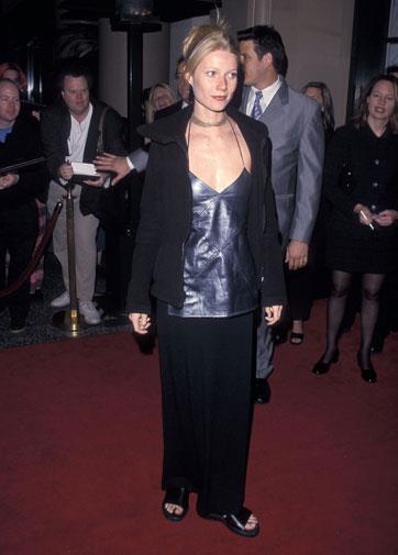 Gwyneth experimented with a few styles in 1999.