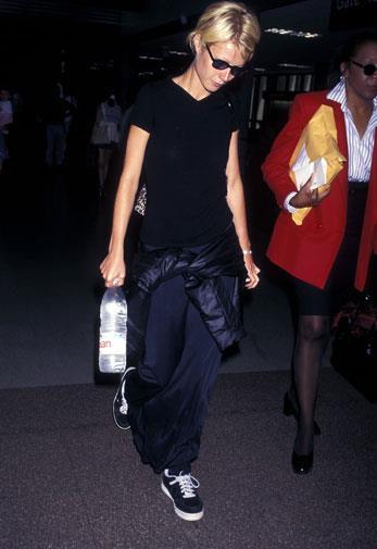 Gwyneth dressing down in 1997.