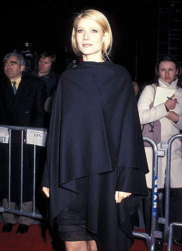 Covering up with a smock in 2000.