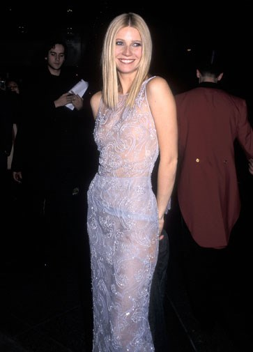 At the Shakespeare in Love premiere in 1998.