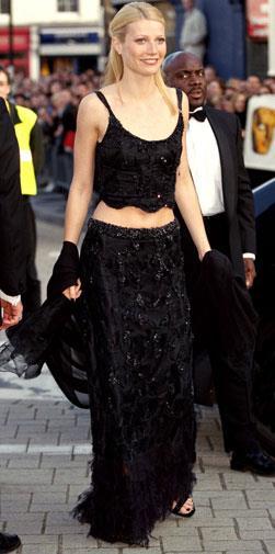 At the BAFTAs in April 1999.