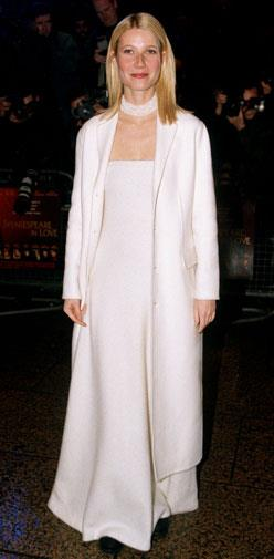 At the Shakespeare in Love premiere in March 1999.