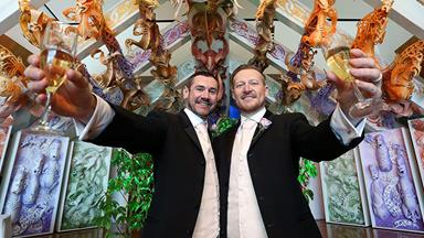 First same-sex couples wed in New Zealand