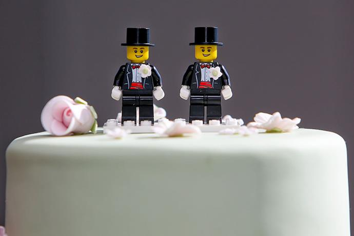 Paul McCarthy and Trent Kandler's wedding cake.