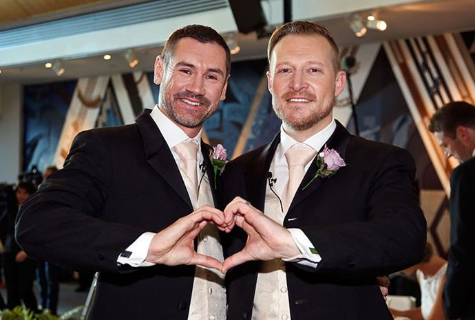 They told the *Dominion Post* they would love to marry legally in Australia.