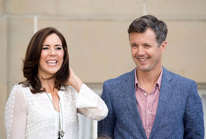 Mary and Frederik will visit Australia in October.