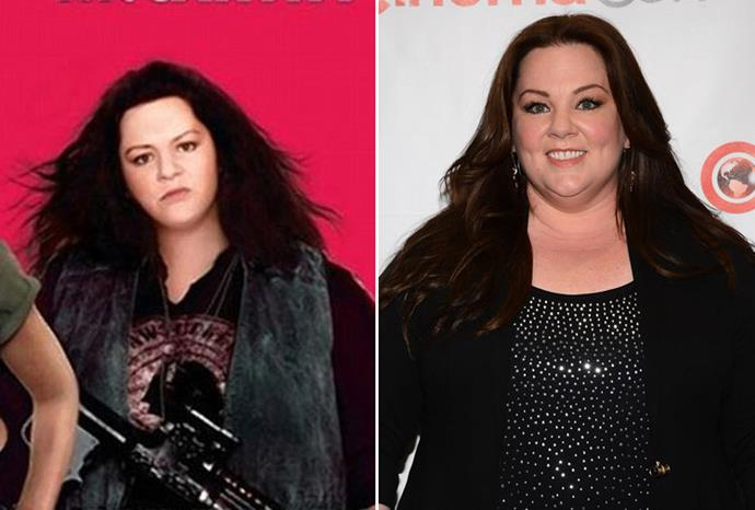 Melissa McCarthy is almost unrecognisable in this film poster.