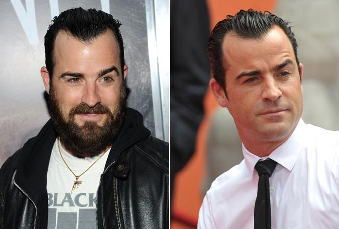 Jennifer Aniston's fiance Justin Theroux transformed with weeks of meeting her.