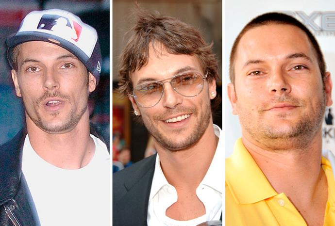 Kevin Federline pre-Britney Spears, during their short marriage, and afterwards.