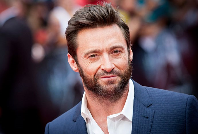 Hugh Jackman at the London premiere of *Wolverine*.