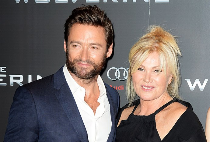 Hugh and wife Deborra-Lee Furness.