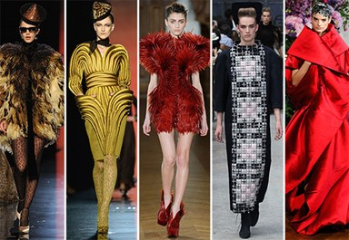 The craziest outfits from Couture Fashion Week