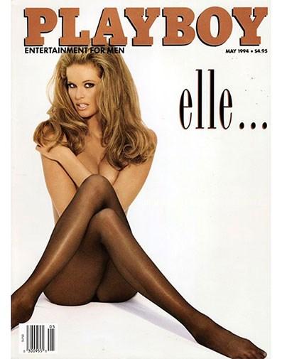 Elle's 1994 *Playboy* cover.