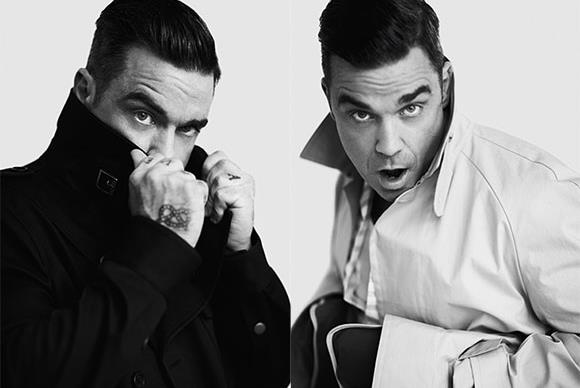 Robbie Williams launches men's fashion line