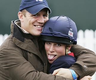 Zara and Mike: Baby marks taming of royal rebels
