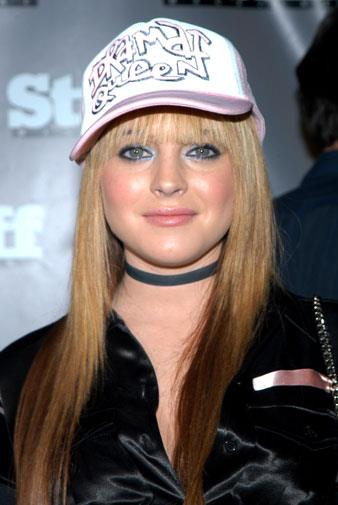 Star on the rise: Lindsay got a lead role in *Freaky Friday* in 2003.