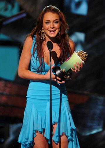 *Mean Girls* won Lindsay a MTV Movie Award in 2004.