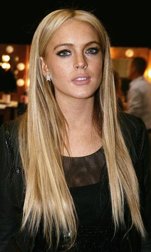 Lindsay checked into rehab in 2007.
