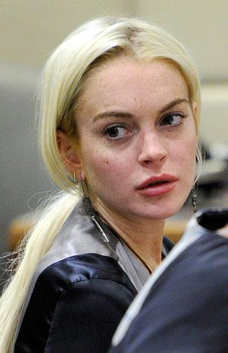Lindsay has been sentenced to jail six times, and spent countless days in court.