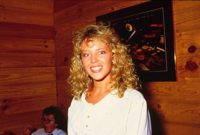 Kylie in Sydney in 1980.