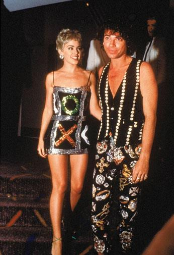 Kylie dressed in Morrissey & Edmiston with her INXS frontman boyfriend Michael Hutchence in 1992.