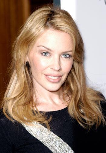 Kylie in Paris in 2003.