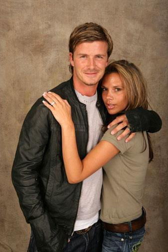 David and Victoria in 2005.