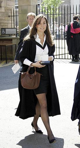 Kate on her graduation day in 2005.