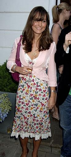 Kate was in full socialite mode by June 2006.