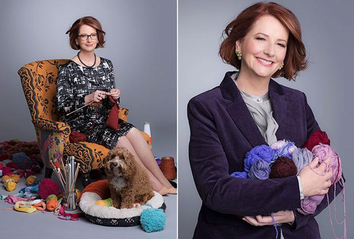 Prime Minister Julia Gillard on the inside pages of the July issue.