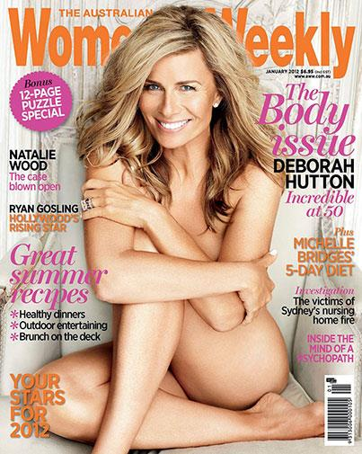 A nude cover shoot with Deborah Hutton got attention.