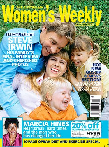 Steve Irwin's family's final interview and pictures were published in a special tribute.
