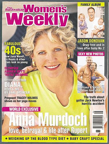 Anna Murdoch spoke of life after Rupert.