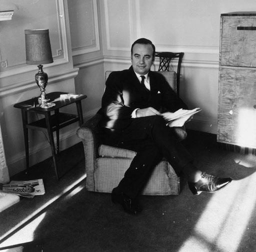 Rupert in his office in 1968.