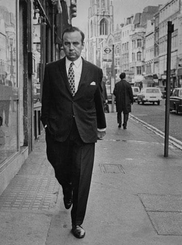 Rupert in London 1969.
