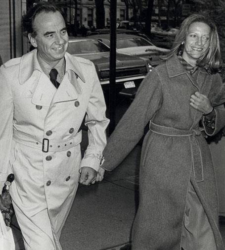 Rupert and Anna in November 1977.