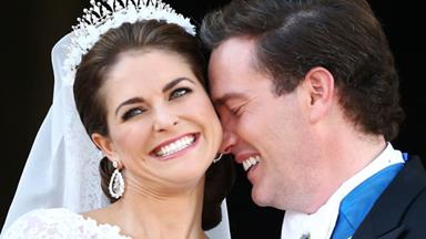 Princess Madeleine weds Christopher O'Neill in fairytale ceremony